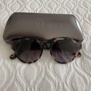 Krewe Paseo Matte Sunday tortoise sunglasses